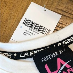 Forever 21 Tops - Forever 21 LA Gear Cut Off Shirt